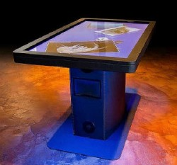 Ideum releases the ultrathin MT-55 Multitouch Table platform