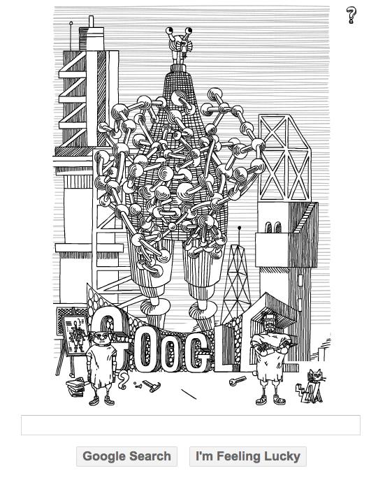 Stanislaw LEM Google doodle
