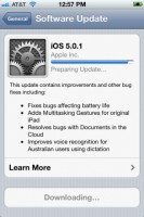 iOS 5.0.1 now ready for download, fixes battery issues