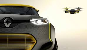 Driving with a Drone: The Renault Kwid