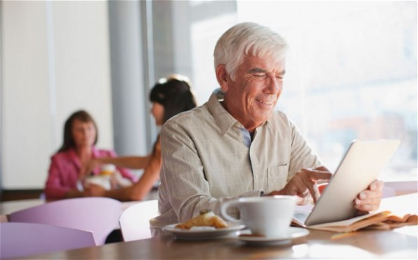 Tablet Ownership Pushes Up Internet Use Among Older Brits