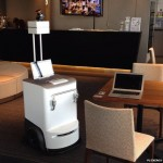 The Robotic Printer that Delivers to Your Desk