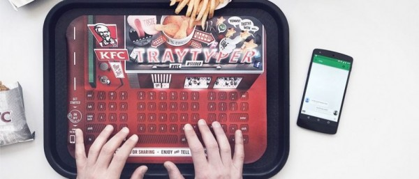 The KFC Tray Typer Is Genius for Chicken Loving Gadget Fans