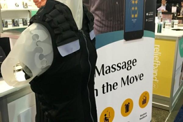 A Vest That Massages on the Go